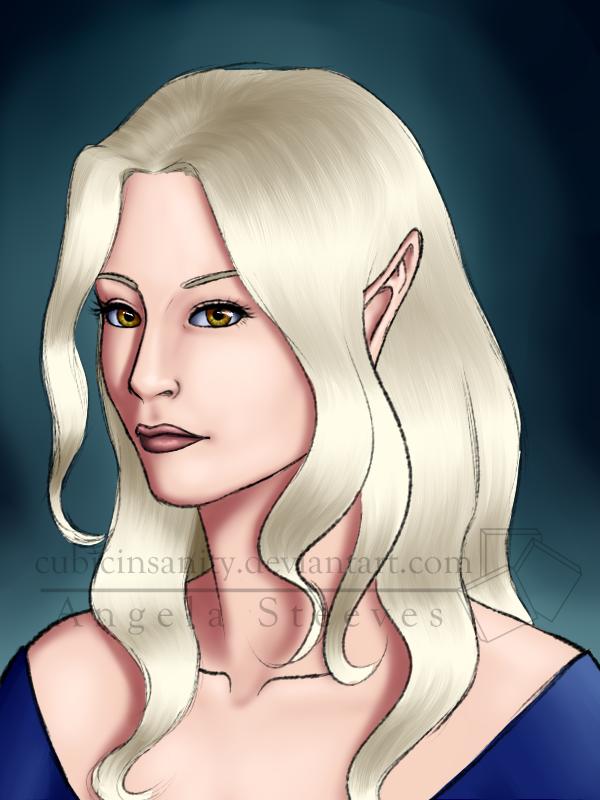 Celsia: Royal Portrait - Saera by Banjelerp
