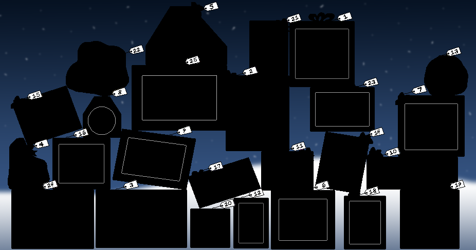 Blacked Out Boxes by CubicInsanity