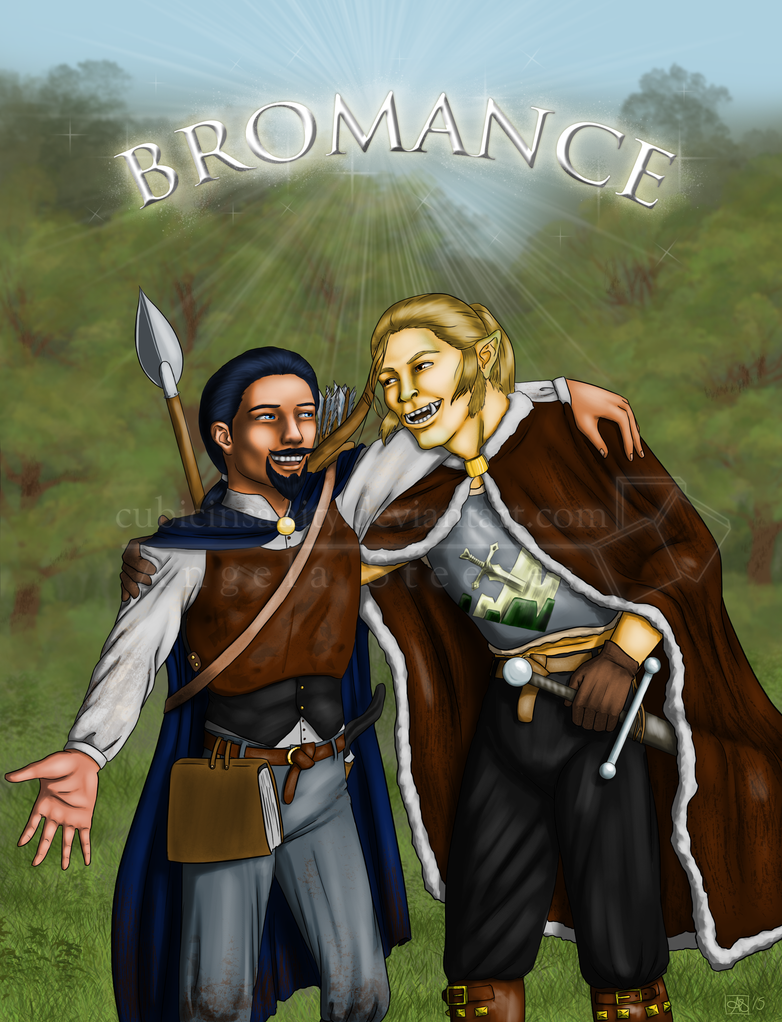 Comm: A Pathfinder Bromance by CubicInsanity