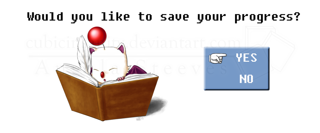 Would You Like To Save, Kupo! by CubicInsanity