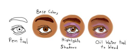 Eye Coloring Tutorial by Cherrylips2298