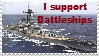 I support Battleships Stamp by Yksteldus