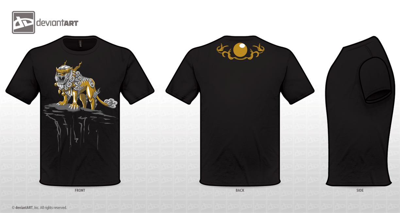 ShiShiLion T-Shirt by DemonWolf47x