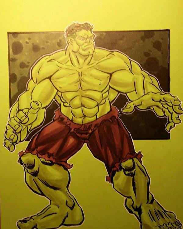 The Hulk by BigRick1