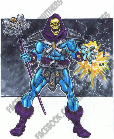 Skeletor, Masters of the Universe  by BigRick1