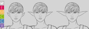 EMCCV preview: Elegant Pointy Ears by SailorXv3