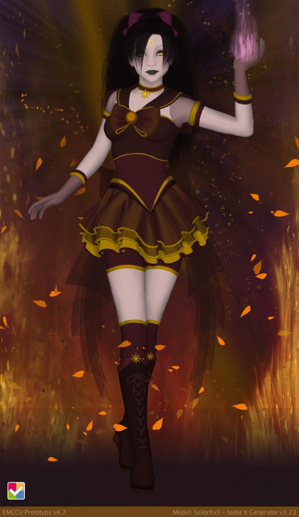 SailorXv3.23 - Sailor Cinder by SailorXv3
