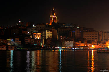 Galata Tower by proze