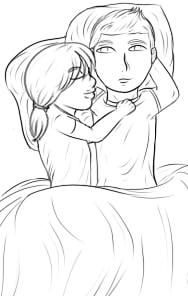 Chibi Snuggles by rin7399