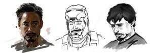 Stark doodles