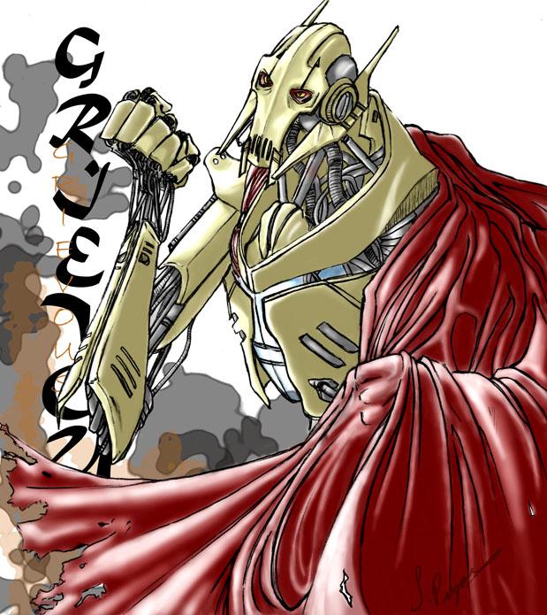 General Grievous Wallpaper: Grievous By Desolee On DeviantArt