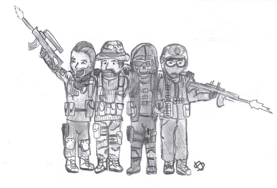 Modern Warfare 2. by sarahbearface on DeviantArt
