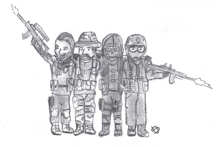 Modern Warfare 2. by sarahbearface on DeviantArt