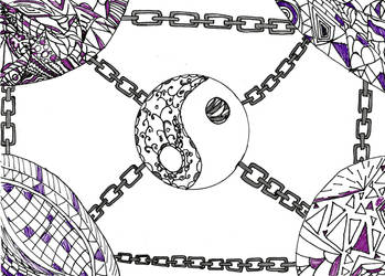 Chained Yin-Yang by Warm-Autumn