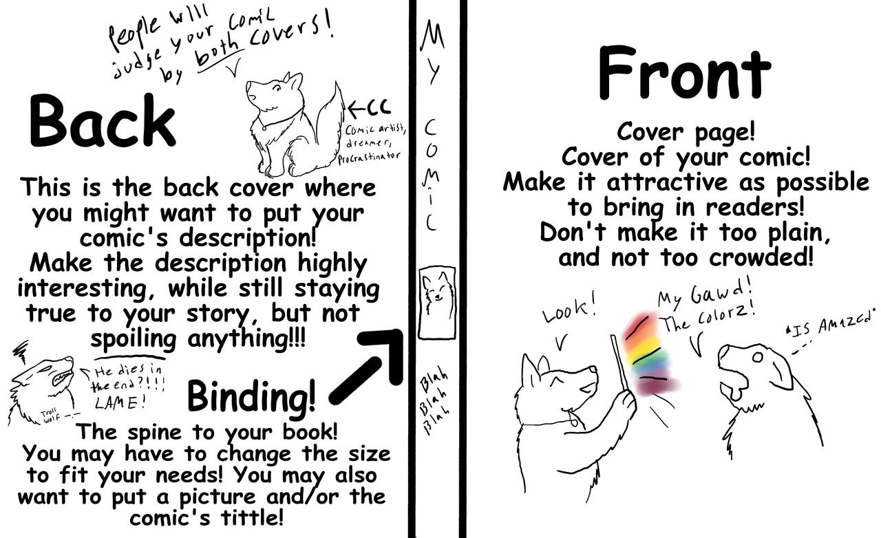 How to design your comic cover by CrystalCircle