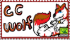 CC the wolf Stamp by CrystalCircle