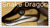 Snake Dragon Stamp by CrystalCircle