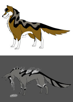 Canine adopts- Auction-Points only (SOLD)