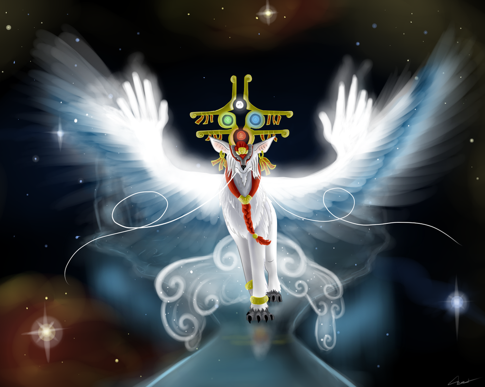 God of the Heavens by CrystalCircle