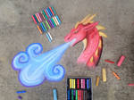 Chalk art- blue breather