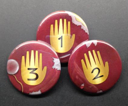 Gravity Falls Journal pins