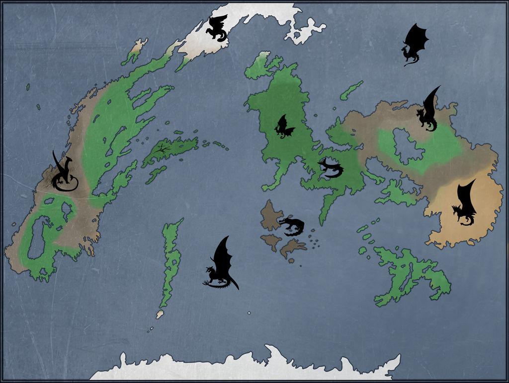 Sister Sister-World Map WIP