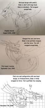 Evolution of Emerald-the giant dragon puppet