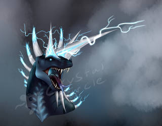 Lord of Thunder-headshot by CrystalCircle