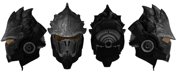 Mass Effect Head Gear V2