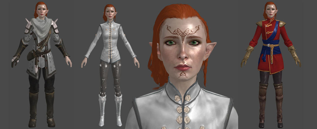 Dai Elf Female Inquisitor Xps By Padme4000 On Deviantart
