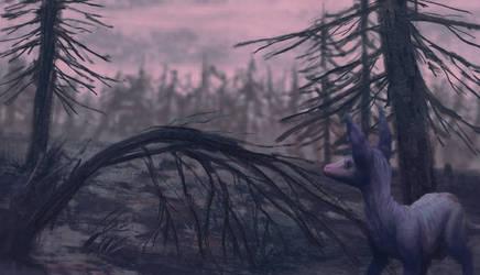 dead trees by krooku
