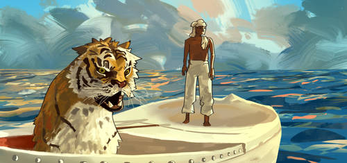 Life of Pi by CHADinskee