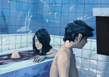 Bath by CHADinskee