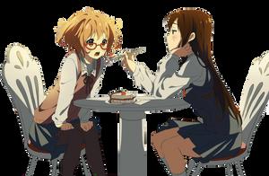 Mirai Y Mitsuki Render 2 by AbruFun