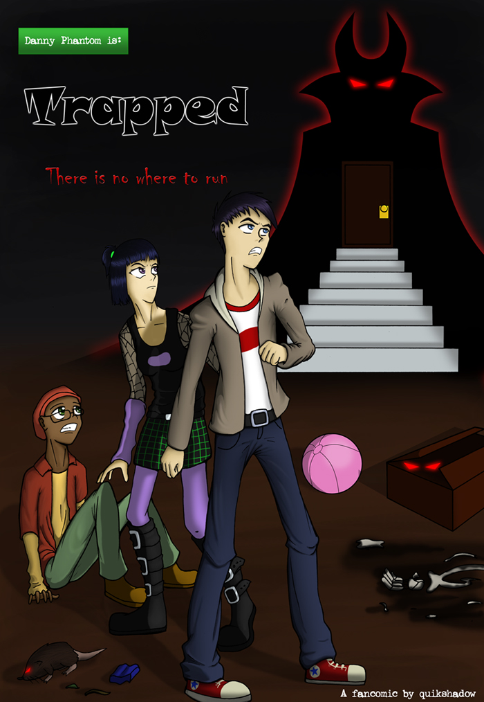 Trapped: Book Cover by quikshadow