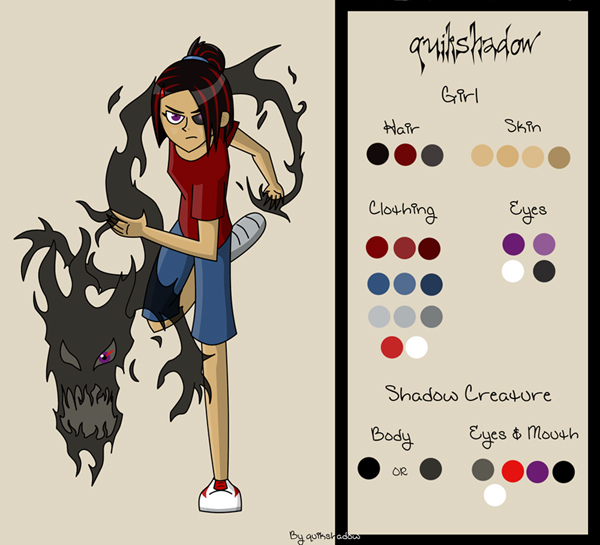 DP Style Ref Sheet by quikshadow