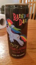 I Brought a Rainbow Dash drink XD