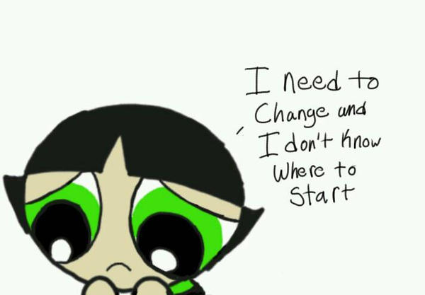 Buttercup wants to change by WinterMoon95