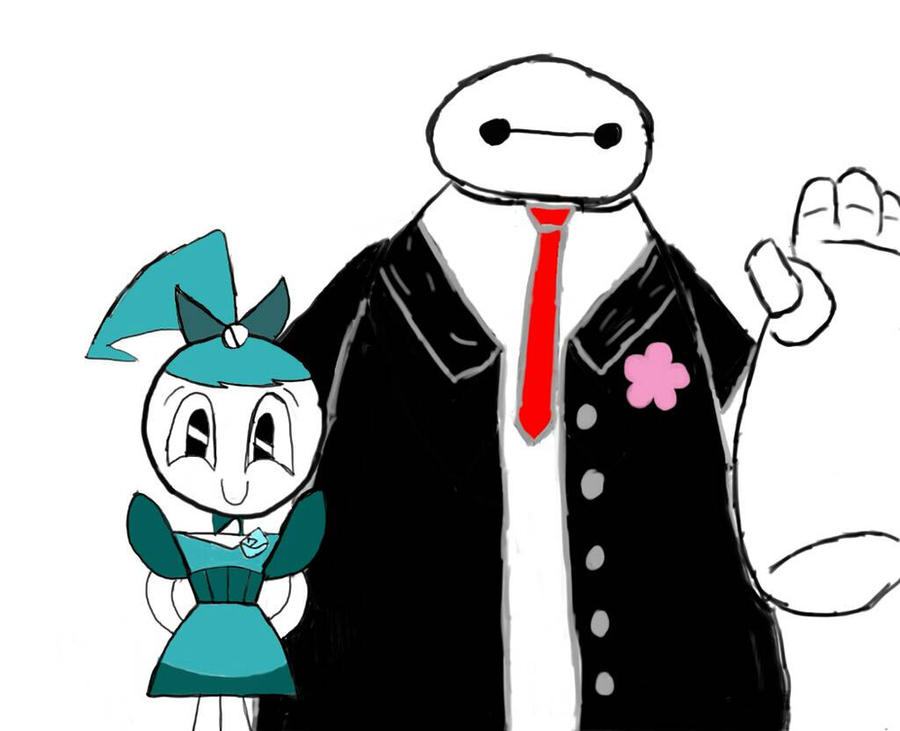 Jenny and Baymax At Their Prom  by WinterMoon95
