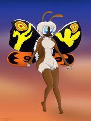 Hu-Mothra by DrawtoonzStudio