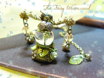 Crystal Fairy Sphere, details by EnchantedTokenArt