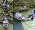 Lavender Agate Vial