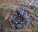 Tree of Life Amethyst and Dichroic