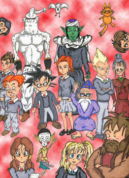 Harry Potter Dragonball