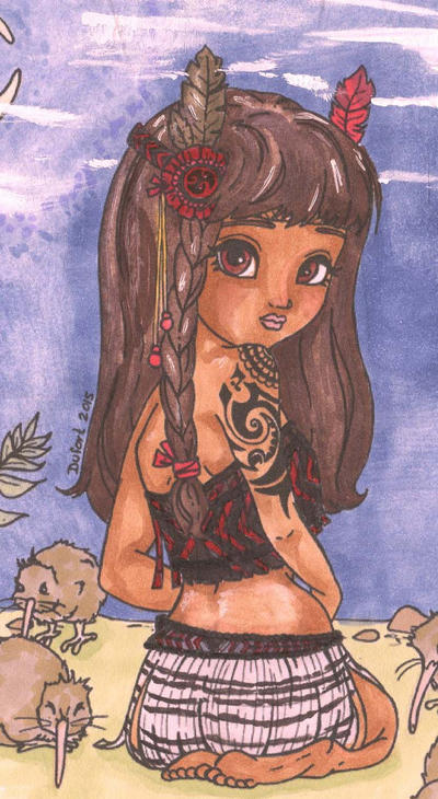 Little Maori Princess by ErikRoger