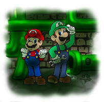Masters of Pipes and Sewers by azadenz