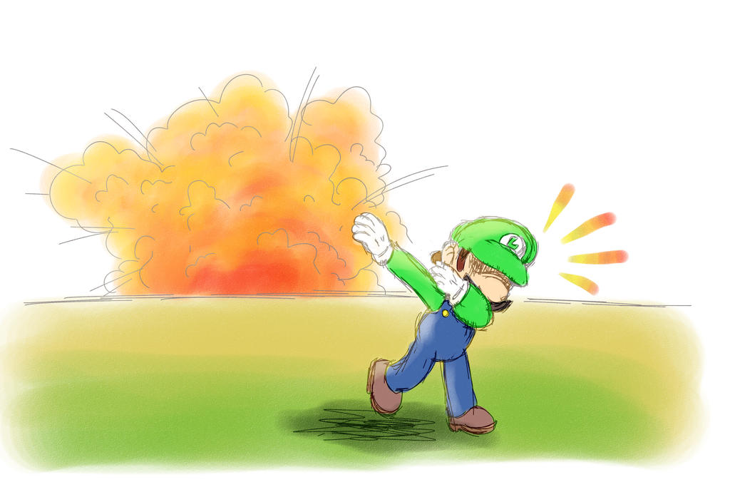 World Of (New) Nintendo (3DS XL) Luigi_dabbing_by_azadenz-dblu01l