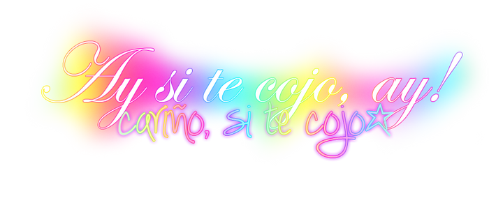 PNG Ay si te cojo! by Noelove