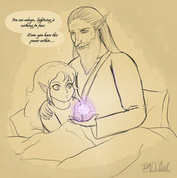 Lightning isn't scary by RonaLightfoot