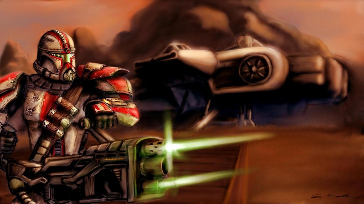 Star Wars by Threepwoody